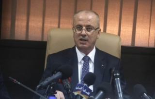 Filistin Başbakanı Hamdallah, İsrailli yetkililerle...