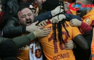 Galatasaray liderlik koltuğuna oturdu