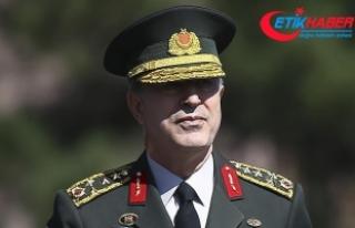 Genelkurmay Başkanı Orgeneral Akar Ürdün'e...