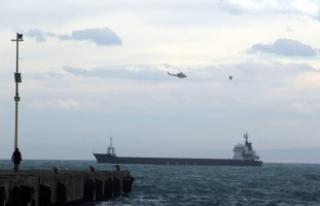 Sinop açıklarında kuru yük gemisinde patlama
