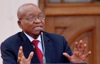 Güney Afrika Devlet Başkanı Zuma görevinden istifa...