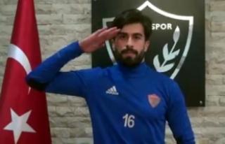 Hatayspor'dan Afrin'de görev yapan askerlere...
