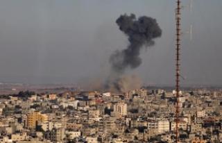 İsrail savaş uçakları, Refah'ta tarım arazilerini...