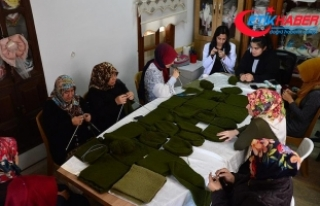 Kilis'in vefakar kadınlarından Mehmetçik'e...