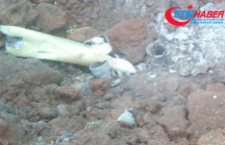 Kırıkhan'da tarlaya 3 roket düştü