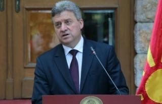 Makedonya Cumhurbaşkanı İvanov, Türkiye'ye...
