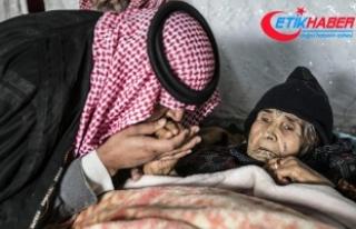 PYD/PKK'lı teröristlerin yaraladığı annesini...