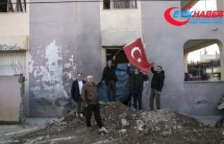 PYD/PKK'nın Reyhanlı'ya roketli saldırısı