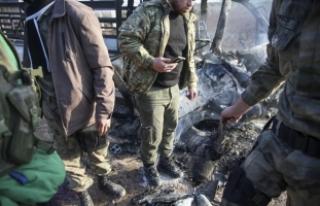 PYD/PKK Afrin'den Azez'deki sivilleri füzeyle...