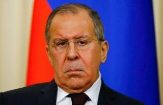 """Lavrov Duma'daki kimyasal saldırının """"tezgahlandığını""""..."""
