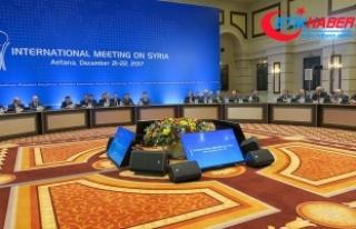 Suriye konulu 9. Astana toplantısı devam ediyor
