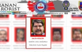 PYD/PKK'nın eski eş başkanı Salih Müslim...