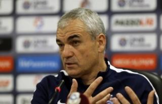 Trabzonspor Teknik Direktörü Çalımbay: Devre arasından...