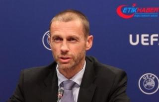UEFA Başkanı Ceferin'den Türk kulüplerine...