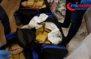 Van'da 75 kilo eroin ele geçirildi