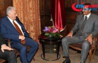 Yıldırım, Katar Emiri Al Sani ile görüştü