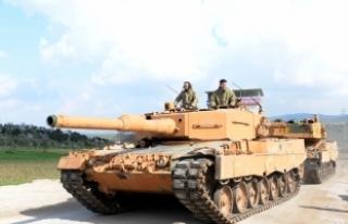 Suriye'nin Afrin bölgesinde devam eden harekat...