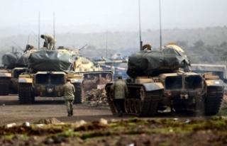 TSK ve ÖSO, Afrin'de tarihi Nebi Huri Tepesi'ni...