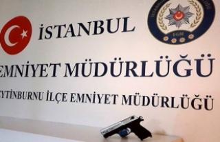Zeytinburnu'ndaki silahlı saldırı zanlısı...