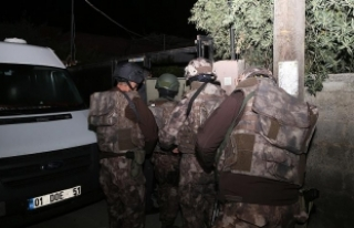 Adana'da terör operasyonu: 47 gözaltı