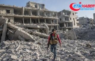 Afrin'de teröristlerin bomba tuzakladığı...