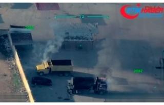 Afrin'den kaçan teröristler, sivillerin araçlarını...