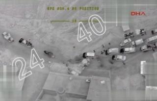 Afrin'de halk terör örgütünün engellerini...