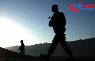 Afrin'in güneyindeki El Ehlam Dağı kontrol altına...