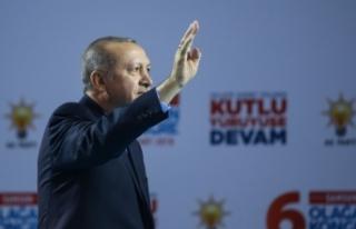 Cumhurbaşkanı Erdoğan: Kimse Türkiye'ye Suriye'de...