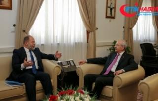 Akdağ, Kılıçdaroğlu ile görüştü