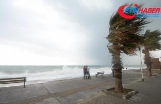 Antalya, Muğla, Burdur ve Isparta için fırtına...