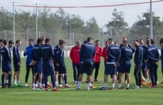 Antalyaspor, Göztepe maçına hazır