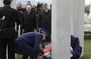 Başbakan Yıldırım Bosna Hersek'in ilk Cumhurbaşkanı...