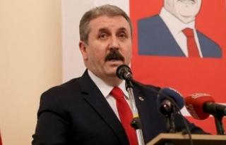 BBP Genel Başkanı Destici: Afrin de Çanakkale gibi...
