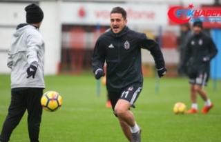 Beşiktaş 11 eksikle çalıştı