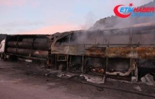 Çorum'da yolcu otobüsü alev aldı: 13 ölü