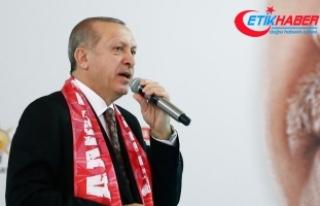 Cumhurbaşkanı Erdoğan: İnsanların inancından...