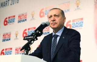 Cumhurbaşkanı Erdoğan: Türk milletinin iradesini...
