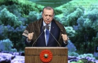 Cumhurbaşkanı Erdoğan: 'Türkiye sınırları...