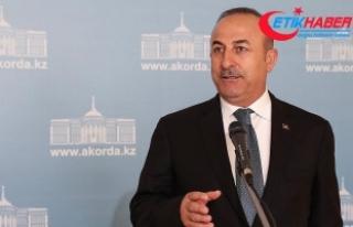 Dışişleri Bakanı Çavuşoğlu: Astana'da...