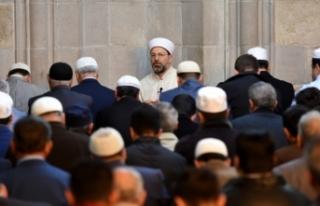 Diyanet İşleri Başkanı Erbaş: Müslümanlar uyanık...