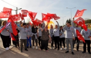 Down sendromlu çocuklardan Mehmetçiğe destek