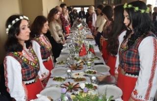 Edirne'de Bulgaristan Milli Günü etkinliğinde...