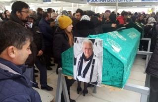Ercüment Balakoğlu son yolculuğuna uğurlandı