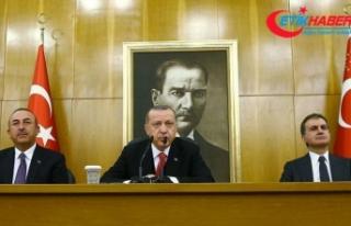 Cumhurbaşkanı Erdoğan: Sincar'a çok fazla tahammülümüz...