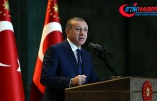 Erdoğan'dan 7103 sayılı kanuna onay