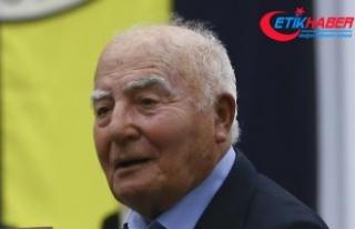 Fenerbahçe'nin eski milli futbolcusu Halit Deringör...