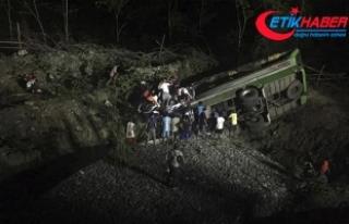 Filipinler'de korkunç kaza: 19 ölü, 21 yaralı