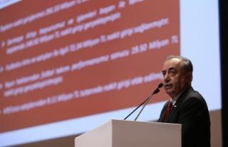 Galatasaray Kulübü Başkanı Mustafa Cengiz: 291...