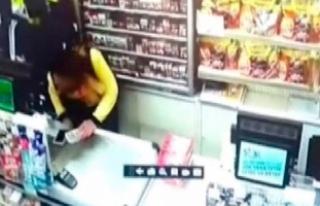 Güvenlik kamerasındaki soygun: Sevgilisiyle anlaşıp...